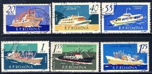 Romania 1961: Sc. # 1416-1421; O/Used CTO Cpl Set