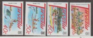 Tuvalu Scott #757-760 Stamps - Mint NH Set