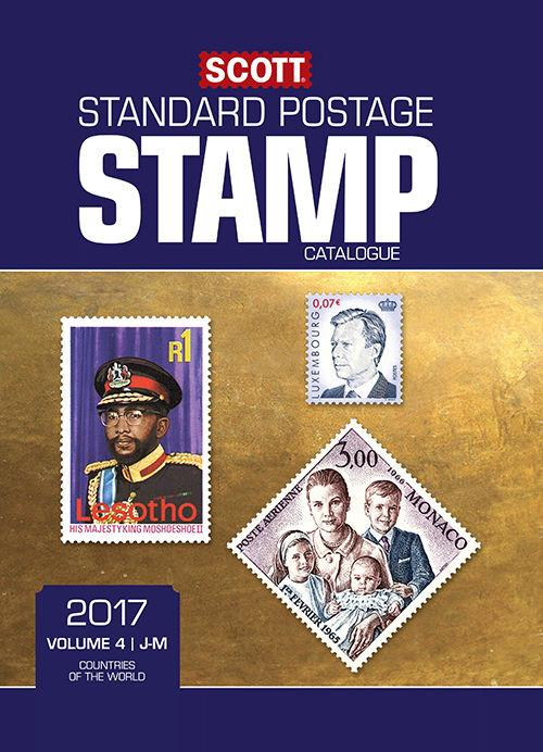 2017 SCOTT STANDARD POSTAGE STAMP CATALOGUE VOLUME 4 J-M Countries FREE SHIPPING