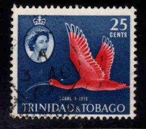 Trinidad Tobago Scott 97 used Bird stamp
