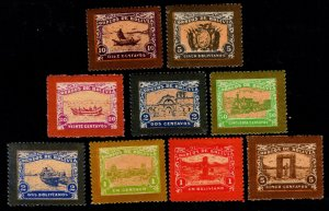 Bolivia - Imitations of Unissued 1915 Set