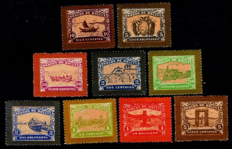 Bolivia - Imitations of Unissued 1915 Set