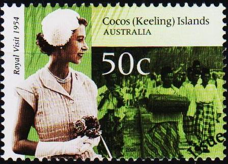 Cocos(Keeling)Islands. 2004 50c S.G.401 Fine Used