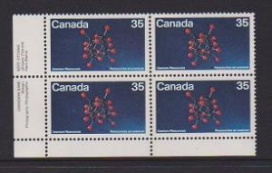 CANADA PLATE BLOCK MNH STAMPS #865 LOT#PB529