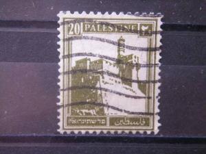 PALESTINE, 1927, used 20m, Scott 77