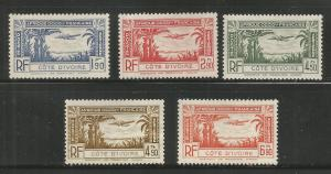 FRENCH COLONIES, C1-C5, NG, COTE DIVOIRE