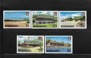 KIRIBATI, 360-364, MNH, TOURIST ATTRACTIONS