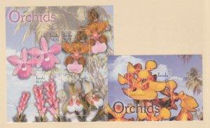 Tuvalu Scott #927-928 Stamps - Mint NH Souvenir Sheet Set
