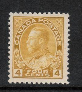 Canada #110d Extra Fine Never Hinged **With Certificate**