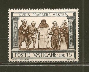 Vatican City 286 Clothing Mint Hinged