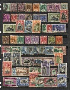 STAMP STATION PERTH Ceylon #57 Mint / Used Selection - Unchecked