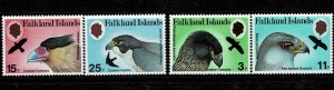 Falkland Island 1980 Birds of Prey MNH