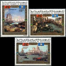 MAURITANIA 1972 - Scott# C118-20 Save Venice Set of 3 NH