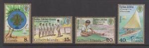 Gilbert Islands Sc#304-307 MH
