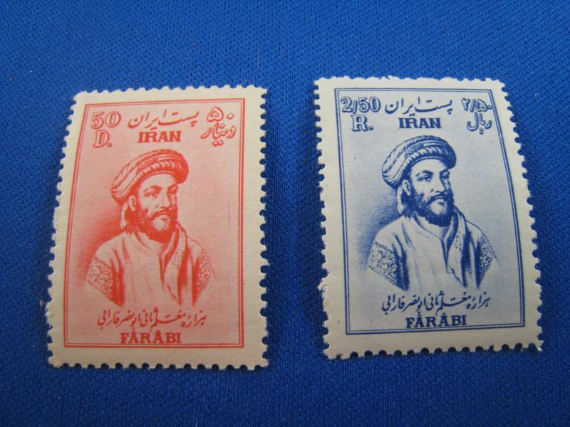 IRAN SCOTT#947-948  MLH                 (gg)