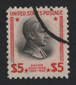 United States USED Scott Number 834  F-VF    -  BARNEYS
