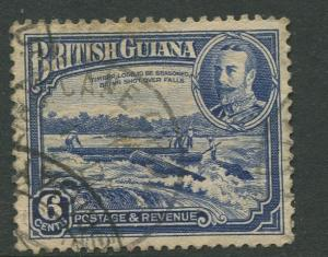 STAMP STATION PERTH British Guiana #214 - KGV Definitive Issue Used CV$8.00