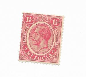 St. Lucia #79 MNH - Stamp - CAT VALUE $.85++