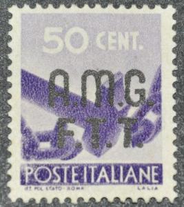 DYNAMITE Stamps: Trieste Scott #2 - UNUSED