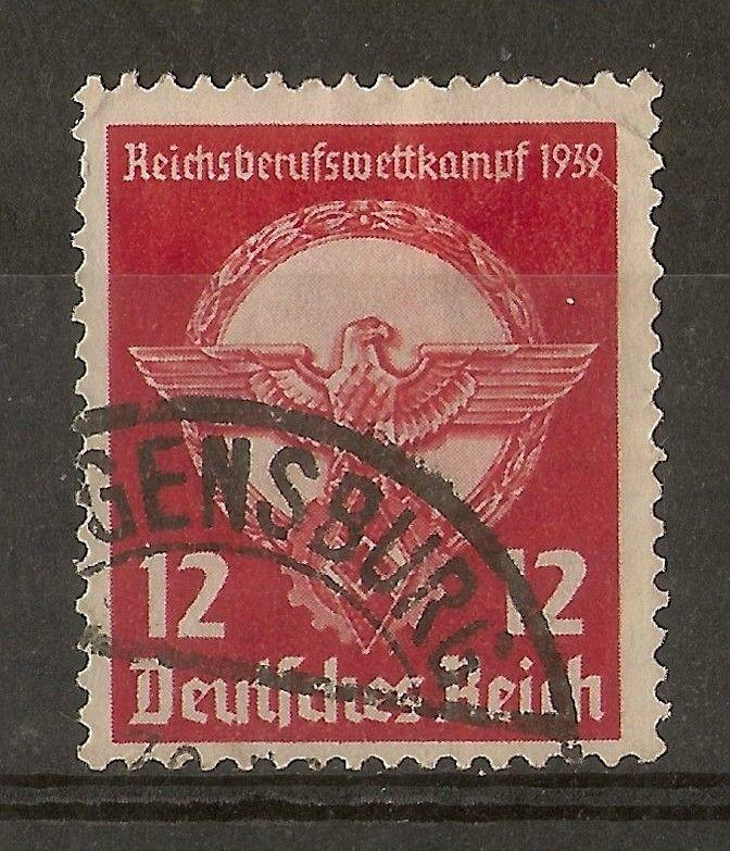 Germany 1939 12pf Contest SG678 Fine Used