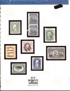 Ivy, Shreve & Mader: Sale #   -  The 1992 ASDA Interpex S...