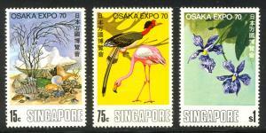 HALF-CAT BRITISH SALE: SINGAPORE #112-15 Mint NH