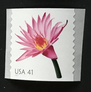 US MNH #4172 Coil Single Water Lily Beautiful Blooms SCV $2.00