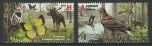 Belarus 2018 Fauna Animals, Birds 2 MNH stamps