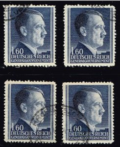 GERMANY STAMP $1.60 USED STAMPS LOT