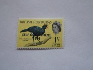 BRITISH HONDURAS STAMP  MINT HINGE MARKS. # 15