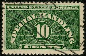 US Scott #QE1 Used-FVF