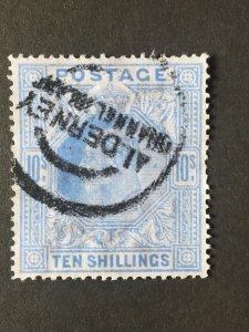 Great Britain stamp, GB Cat:£600, SG#319, King Edward