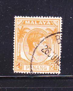 Malaya Penang 4 U King George VI