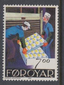 Faroe Islands 204 MNH VF