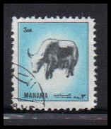 Bahrain Used Fine D36946