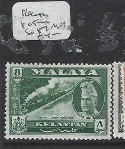 MALAYA KELANTAN  (P0704BB)  TRAIN 8C  SG 87  MOG