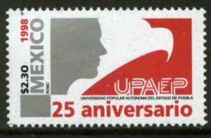 MEXICO 2073, University of Puebla. 25th Anniv. MINT, NH. VF. (69)