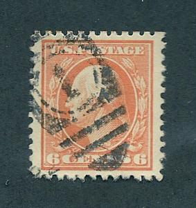 506 Used, 6c. Washington, XF Jumbo