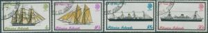 Pitcairn Islands 1975 SG157-160 Mailboats set FU