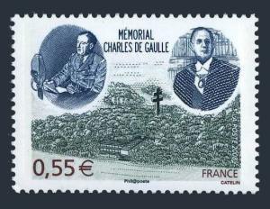 France 3499,MNH. Charles de Gaule Memorial,Paris,2008.
