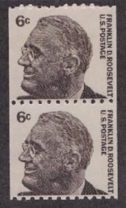 1298 Franklin Roosevelt MNH Coil pair