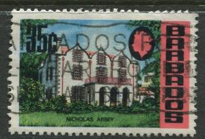 Barbados -Scott 339 - Definitives - 1970 - Used - Single 35c Stamps