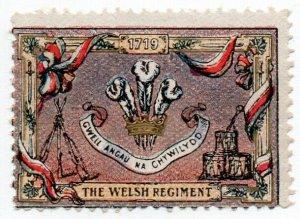 (I.B-CKK) Cinderella : Delandre Great War Regiments - The Welsh Regiment