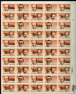 UNITED STATES SCOTT# 2055 AMERICAN INVENTOR FULL SHEET OF 50 STAMPS MNH AS SHOWN