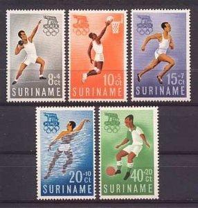 Suriname - 1960 - NVPH 349-53 - MNH - ZO108