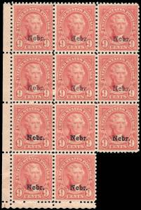 678 Mint,OG,NH... Block of 11... SCV $770.00