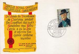 Belgium, Event, Stamp Collecting, Art