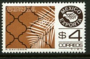 MEXICO Exporta 1119, $4P Constr Mats Unwmkd Fosfo Paper 5. MINT, NH. VF.