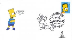 The Simpsons FDC - Bart Simpson, from Toad Hall Covers!