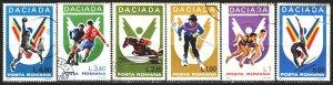 Romania. 1978. 3542-47. Dacia Sports Games. USED.
